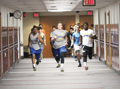 CHS Mens Track and Field Team Moves Outside, Prepares for a Successful Spring Season