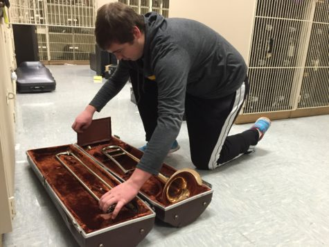Jazz Bands prepare for Jazz Expressions concert on March 20