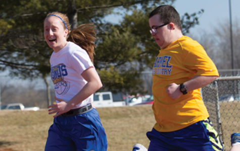 SPREADING THE WORD: Senior Abby Abel serves on the Special Olympics National Youth Activation Committee (YAC)