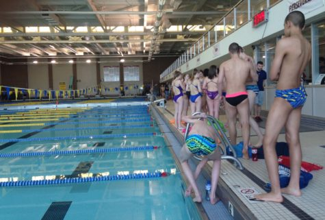 Aquatics Center makes final preparations for triathlon