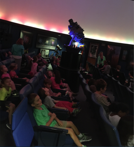 Planetarium Club prepares shows for kids