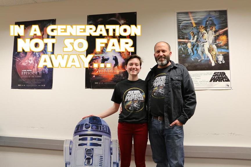 Examining family's role popularity of the 'star wars' franchise