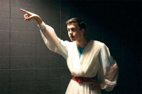 The Fairest of Them All: Sophomore Seth VanNatter to play Athena in upcoming CHS Greek comedy
