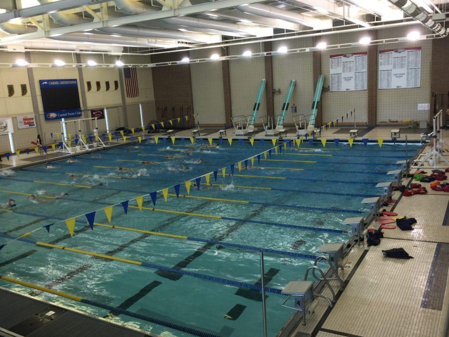Carmel indiana high school swim team