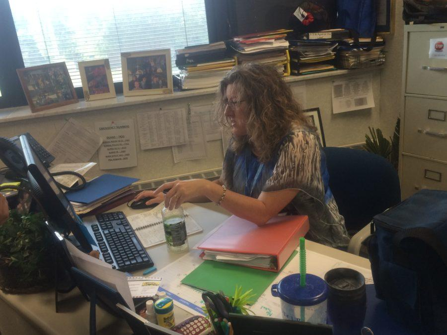 Sitting at her desk, Overbey opens the Lifelines schedule on her computer. She and Toomey decided to have the call-out meeting for the club on Sept. 3.