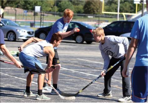 Score One for Street Hockey: CHS students grow recreational street hockey league, look to expand to other schools
