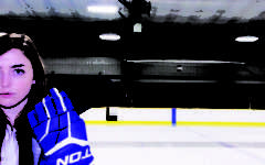 Skating Out of Norms:  Junior Ali Sinnett joins the Carmel  Ice Hounds, a predominately male team
