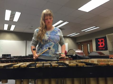 Students prepare for Jazz Ensemble auditions on Nov. 17 to 19