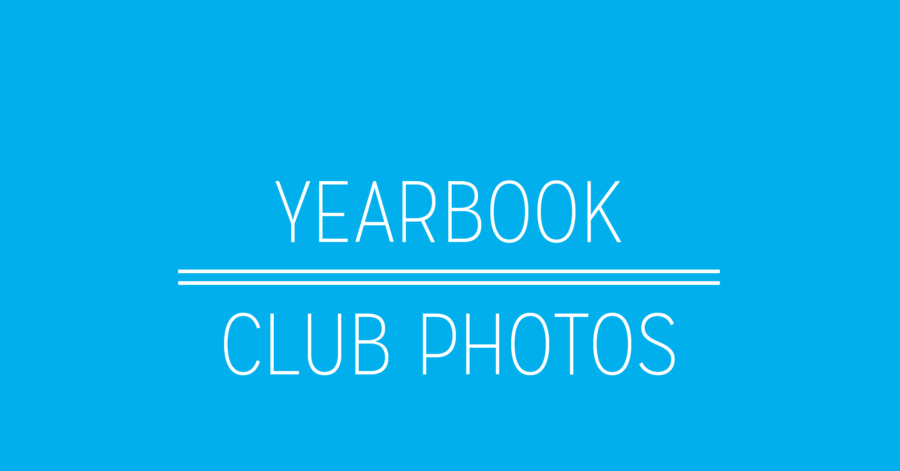 Yearbook Club Photo Schedule Released