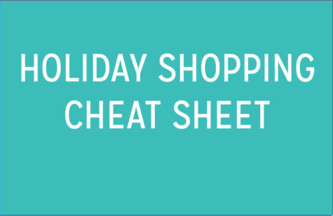 Holiday Shopping Cheat Sheet: Graphic
