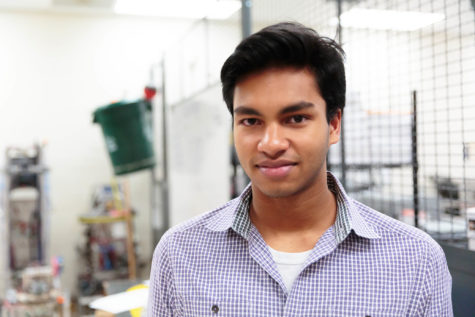 INNOVATIVE VISION: Senior Vikas Maturi has invented a new way to perform eye injections