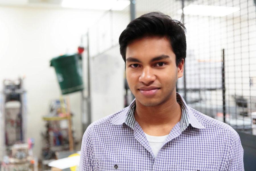INNOVATIVE VISION: Senior Vikas Maturi has invented a new way to perform eye injections
