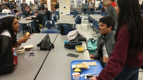 ISA leadership sit down at lunch to discuss new changes for the club. PHOTO/ ANNIKA WOLFF