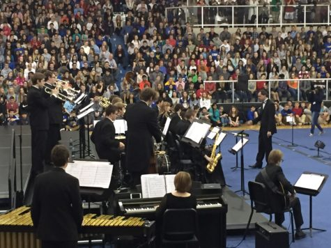 Jazz Ensemble prepares for Jazz a la Mode concerts from April 21 to 23