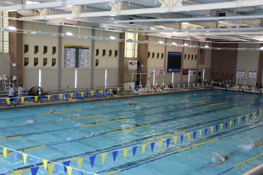 """Aquatics center director Nicole Bills said that the aquatics center has started spring programming. """"The club has been busy with swim meets every weekend to finish their championship seasons,"""