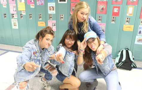 MONDAY: DENIM ON DENIM