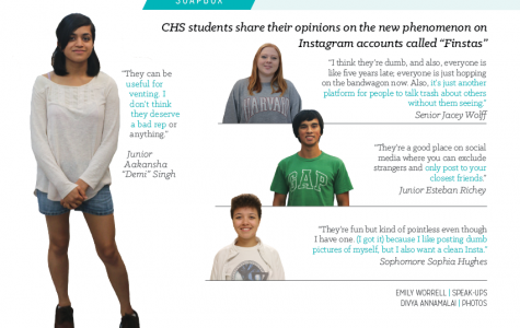 """The Soapbox: How do CHS students feel about """"Finstas?"""""""