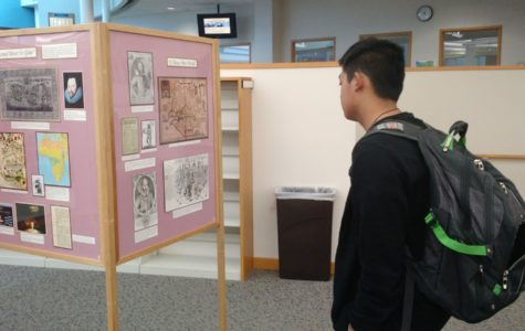 CHS Media Center hosts Shakespeare exhibit