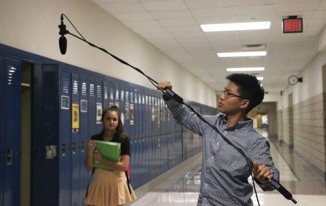 "Sophomore Sam Kim directs original movie, ""Awkward"""