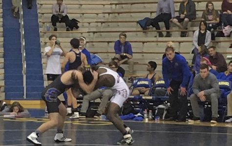 Wrestling team prepares for Center Grove after a win at home