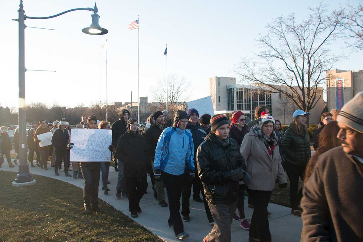 Picture from the Butler Unity Walk on Feb. 3