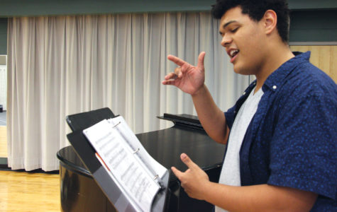 Take Note: Students planning to pursue careers in musical theater audition for colleges