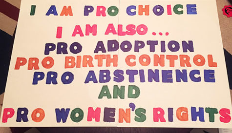 Voices United sues CHS for not allowing pro-choice poster