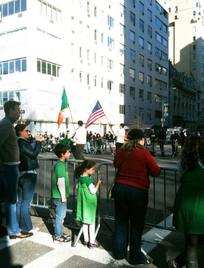 Seven years ago, Rooney went to the New York St. Patrick's Day Parade as per tradition. He encourages his peers to wear green and reinsures that you don't have to be Irish in order to celebrate the holiday.