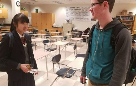 Looking Back: Japanese Exchange Students from Sister School Visit CHS (March 18)