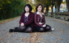 Sibling sets in the Senior Class write letters to each other: Ally and Emily Fleckenstein