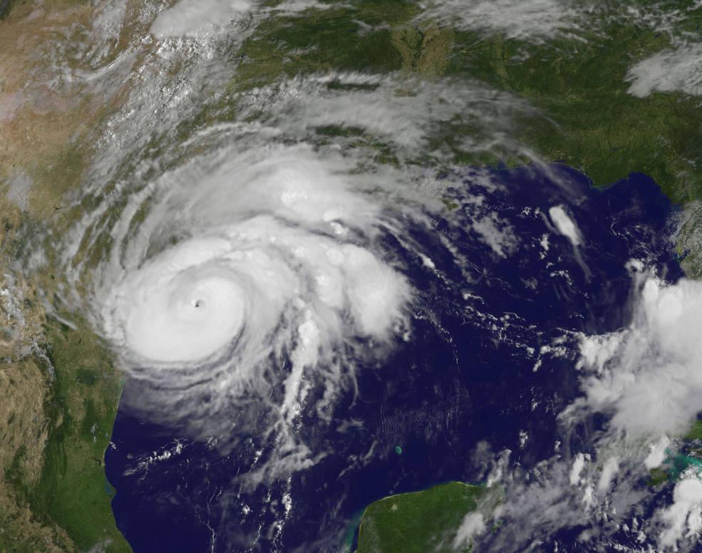 Satellite+image+of+tropical+storm+%27Harvey.%27+%0A%0ACourtesy+of+NASA