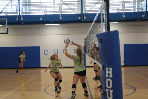 The volleyball team has a home game Sept. 11