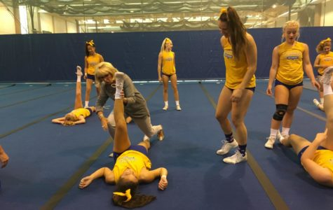 CHS Cheer Team Prepares for Homecoming Game