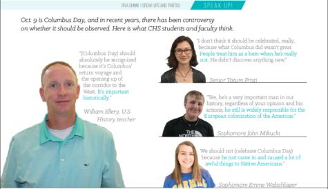 Columbus Day Speak-Ups