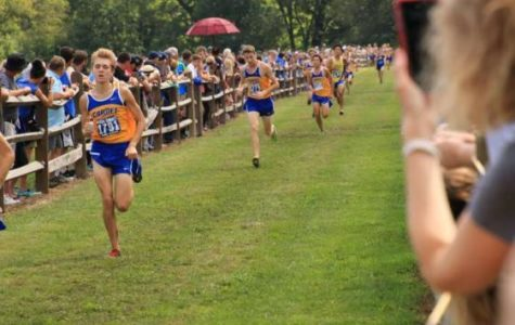 Men's cross-country team prepares for Trinity Invitational