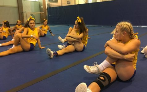 CHS Competitive Cheerleading Team prepares for New Palestine