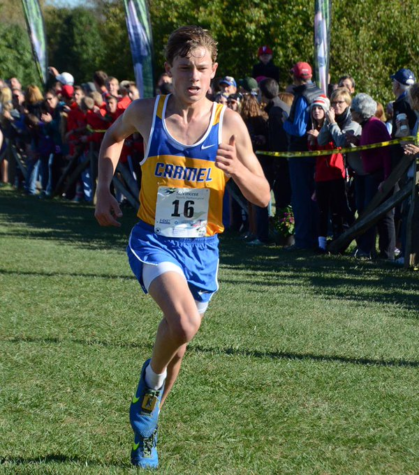 Men's cross-country team prepares for Sectionals