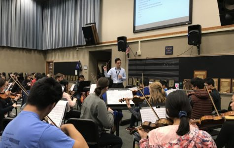 Orchestras to practice music for winter concert