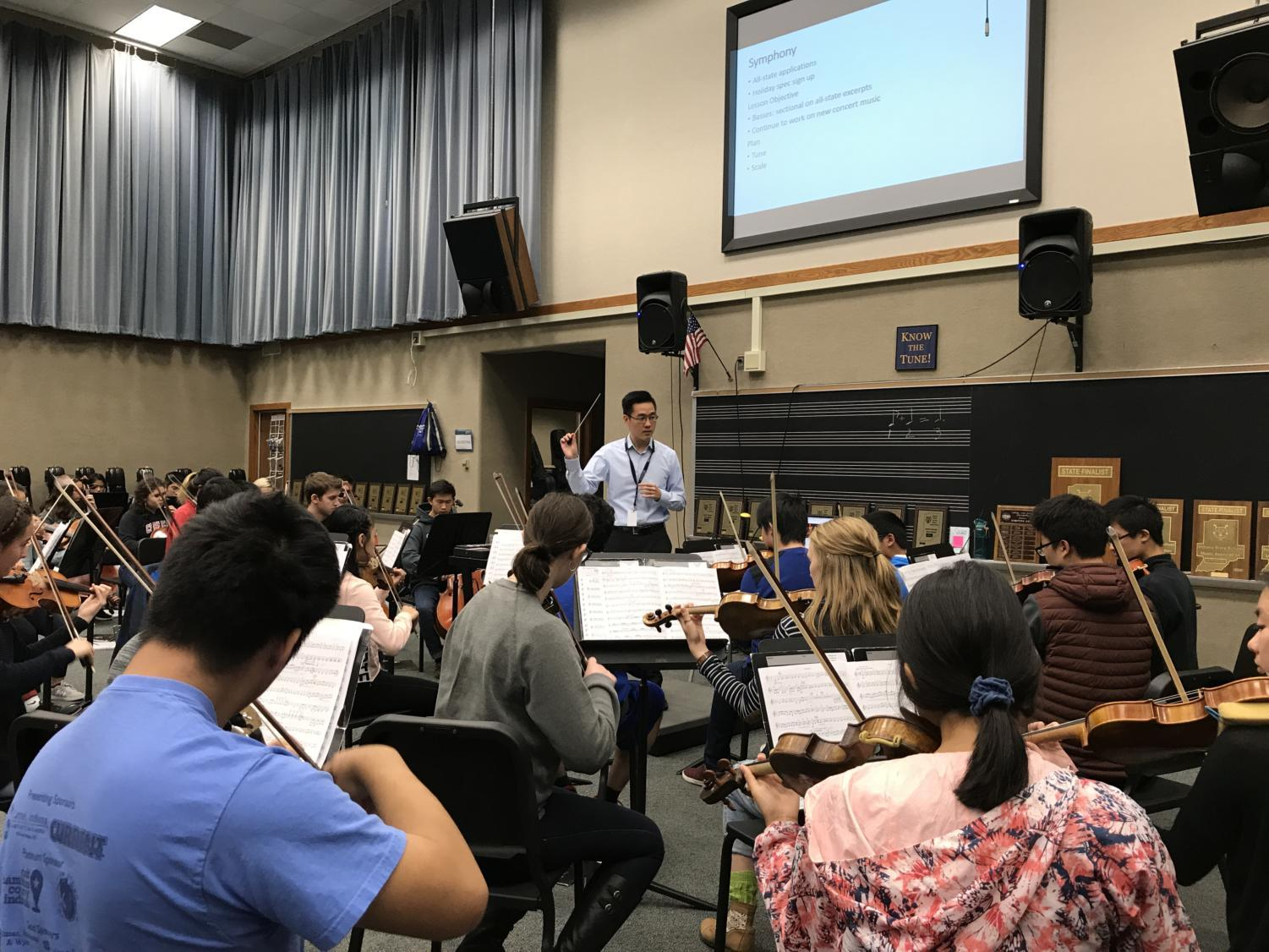 """""""I think we build up on our foundation in the first concert,"""" Ohly-Davis said. """"We're just working to tailor our instruction to make them even more effective now."""""""