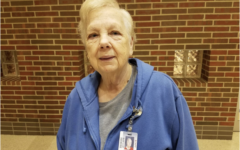 Cafeteria Worker Edith Billingsley Discusses New Breakfast Cart