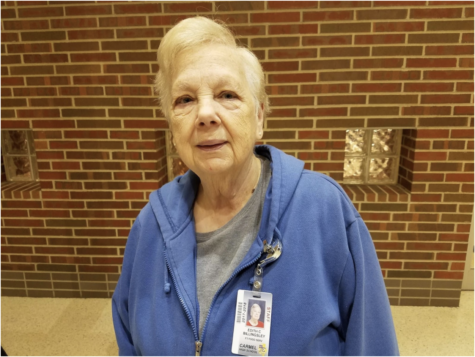 Cafeteria worker Edith Billingsley