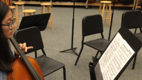 Performing arts department to prepare for winter orchestra concert