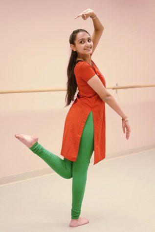 Classically Trained: Sophomore Antara Deshmukh participates in  the classical Indian dance Bharatanatyam.