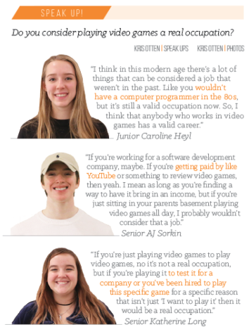 Life's a game: With the rise of video gamers in the entertainment  industry, CHS students assess the reality of these professions