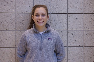 "Sophomore Gracie Gilbert, pictured, believes rap music appeal is growing, causing a difference in perspective for high school and college students. ""With so many more teens listening to rap music, their behavior and actions can be easily effected just because of the influence the music genre has,"" Gilbert said."