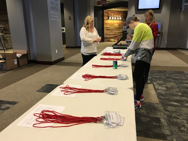 Volunteers prepare for the Special Needs Prom. It will be on Feb. 9 at Northview Church from 6 to 9 p.m.