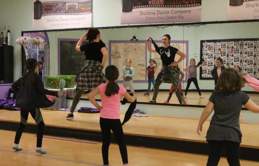 Aniston Eastes, dance teacher and junior