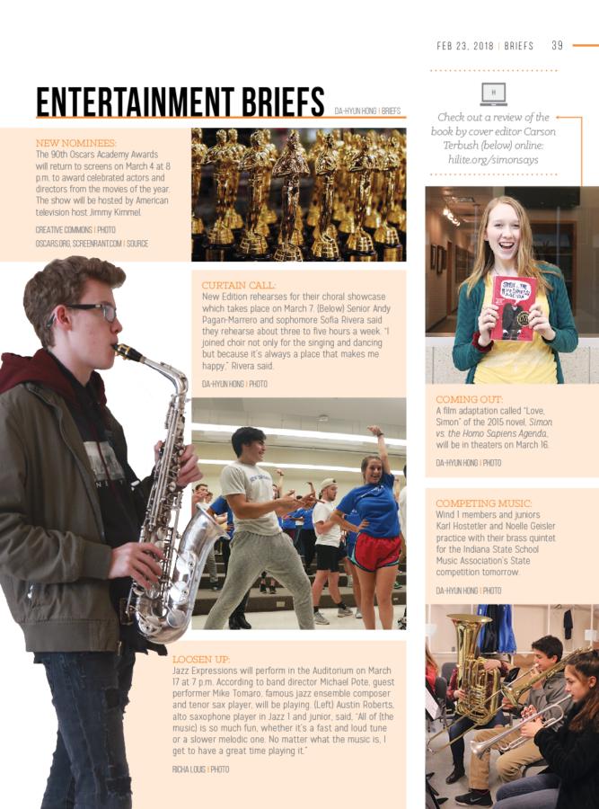 Entertainment Briefs