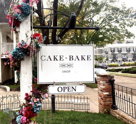 Cake Bake Shop sign