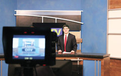 Broadcasting into the future: CHTV, WHJE students reflect on potential impact of proposed budget cuts for broadcasting industry